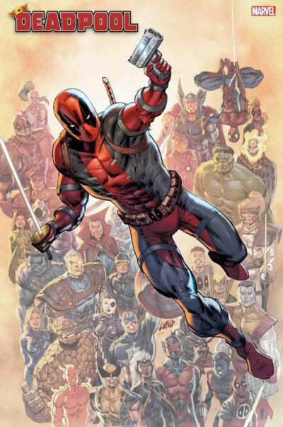 cover art of Deadpool Dirty 30th Pack!