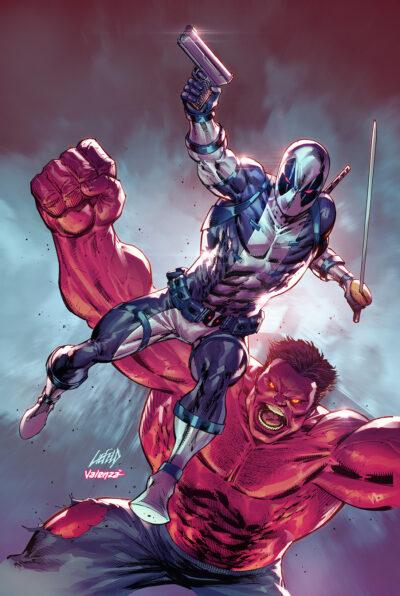 Cover of Hulk Deadpool XF Grey 30th Anniversary Variant