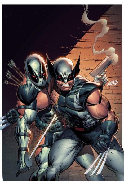 X-Men Deadpool XF Grey Cover!