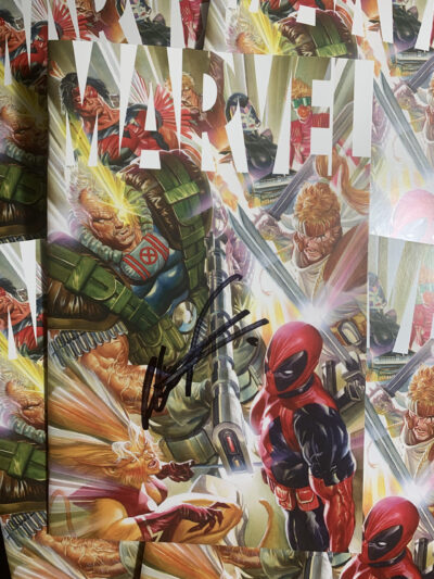 Cover art of Signed MARVEL Alex Ross Liefeld cover