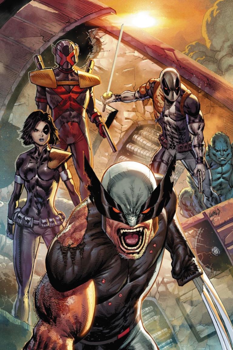 NEW! X-MEN #1 Deadpool XF Variant!